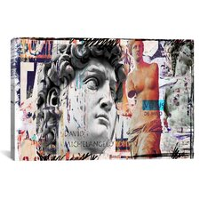 """David and Venus"" by Luz Graphics Graphic Art on Canvas"