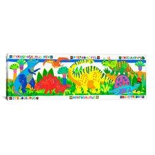 Kids Children 'Dinosaurs'  Graphic Canvas Wall Art