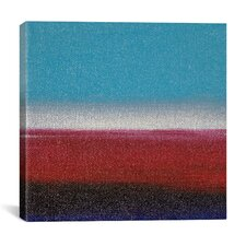 Dreaming of 21 Sunsets - XXI Canvas Wall Art by Hilary Winfield