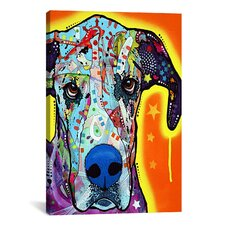 Great Dane by Dean Russo Graphic Art on Canvas