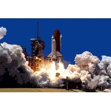 Astronomy and Space Into Outer Photographic Print on Canvas