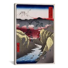 'Inume Pass' by Utagawa Hiroshige