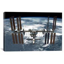 Astronomy and Space International Space Station Photographic Print on Canvas