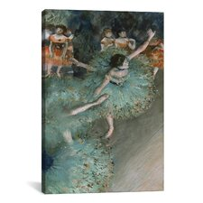 'Dancer 1880' by Edgar Degas Painting Print on Canvas