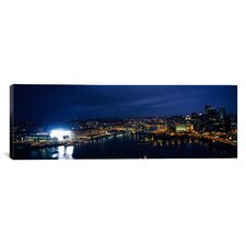 Panoramic Heinz Field, Pittsburgh, Allegheny County, Pennsylvania Photographic Print on Canvas