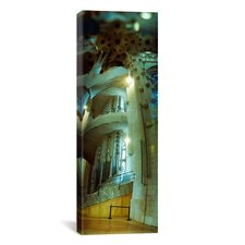 Panoramic 'Sagrada Familia, Barcelona, Spain' Photographic Print on Canvas