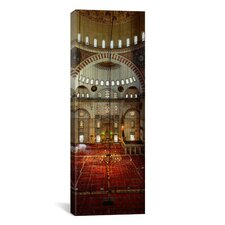 Panoramic Suleymanie Mosque, Istanbul, Turkey Photographic Print on Canvas