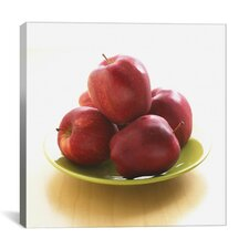 Red Apples on a Plate Photographic