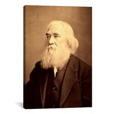 Political Lysander Spooner Portrait Photographic Print on Canvas
