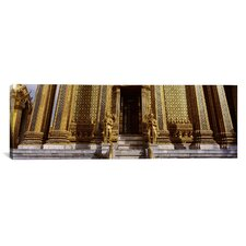 Panoramic Phra Mondop Bangkok, Thailand Photographic Print on Canvas