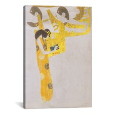 'Poesie 1902' by Gustav Klimt Painting Print on Canvas