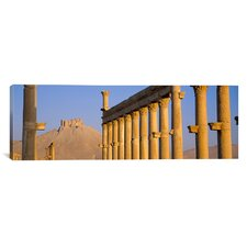 Panoramic Palmyra, Syria Photographic Print on Canvas