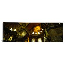 Panoramic Aya Sophia, Istanbul, Turkey Photographic Print on Canvas