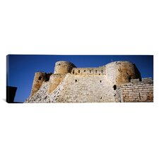 Panoramic Crac Des Chevaliers Fortress, Crac Des Chevaliers, Syria Photographic Print on Canvas