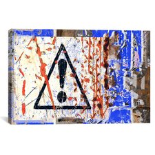 'Point D'Exclamation' by Luz Graphics Graphic Art on Canvas