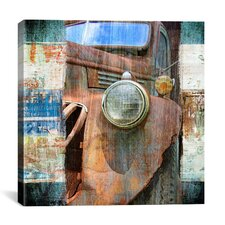 """Old Truck"" by Luz Graphics Graphic Art on Canvas"