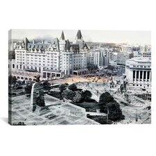 Ottawa Centre Ville, Canada 3 Photographic Print on Canvas