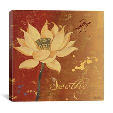 Lotus III from Sybil Shane Studio Canvas Wall Art