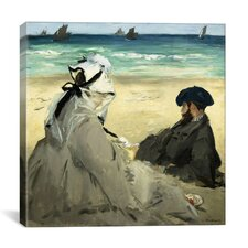 """On the Beach"" Canvas Wall Art by Edouard Manet"