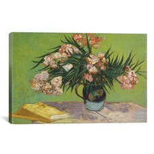 'Oleanders 1888' by Vincent van Gogh Painting Print on Canvas
