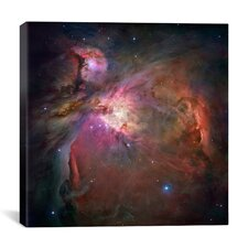 Orion Nebula (Hubble Space Telescope) Canvas Wall Art