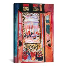 'Open Window at Collioure (1905)' by Henri Matisse Painting Print on Canvas