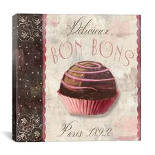 """Patisserie (Bon Bons)"" Canvas Wall Art by Color Bakery"