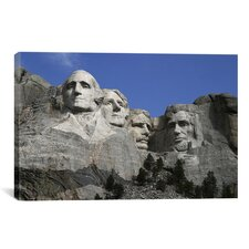 Political Mount Rushmore Photographic Print on Canvas