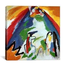 """Mountain"" Canvas Wall Art by Wassily Kandinsky"