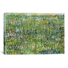 'Patch of Grass' by Vincent Van Gogh Painting Print on Canvas
