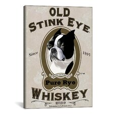 'Old Stink Eye Vertical' by Brian Rubenacker Graphic Art on Canvas
