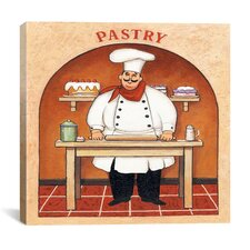 """Pastry"" Canvas Wall Art by John Zaccheo"