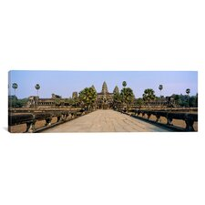 Panoramic Angkor Wat, Siem Reap, Cambodia Photographic Print on Canvas