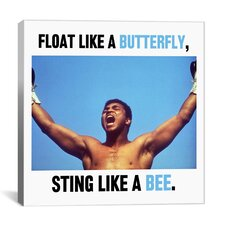 Muhammad Ali Quote Canvas Wall Art