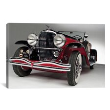 Cars and Motorcycles Murphy Duesenberg J 395 Convertible Coupe Canvas Wall Art