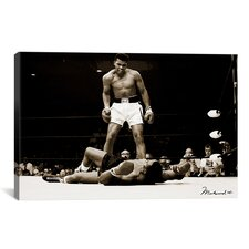 'Muhammad Ali Vs. Sonny Liston, 1965' Photographic Print on Canvas