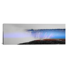 Niagra Falls, Canada Panoramic 3 Photographic Print on Canvas