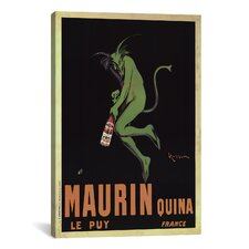 'Maurin Quina (Vintage)' by Leonetto Cappiello Vintage Advertisement on Canvas