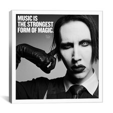 Marilyn Manson Quote Cancas Wall Art