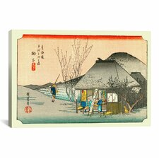 'Mariko' by Utagawa Hiroshige l Painting Print on Canvas