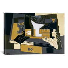 'Le Moulin a Cafe (Coffee Grinder)' by Juan Gris Painting Print on Canvas