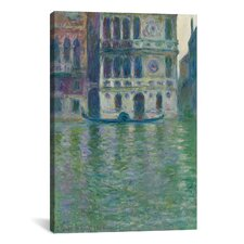 'Le Palais Dario 1908' by Claude Monet Painting Print on Canvas