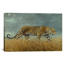 'Leopard 2' by Harro Maass Painting Print on Canvas