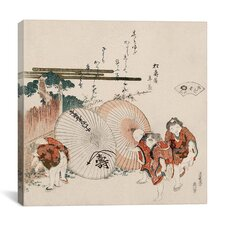 """Lost-Love Shell (Katashigai)"" Canvas Wall Art by Katsushika Hokusai"