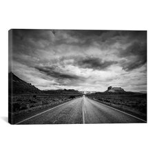 'Long Stretch of Road' by Dan Ballard Photographic Print on Canvas