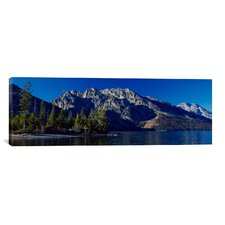 Photography 'L-Teton' by Gordon Semmens Photographic Print on Canvas