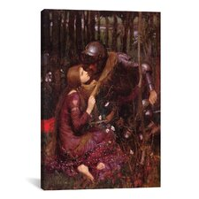 'La Belle Dame Sans Merci' by John William Waterhouse Painting Print on Canvas
