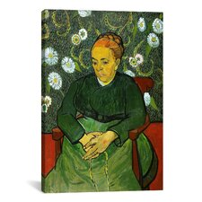 'La Berceuse (Portret Van Madame Roulin)' by Vincent Van Gogh Painting Print on Canvas
