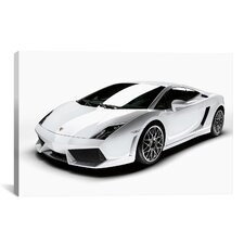 Cars and Motorcycles Lamborghini Gallardo LP 560-4 Photographic Print on Canvas