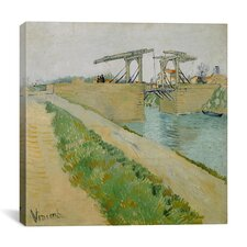"""Langlois Bridge at Arles, 1888"" Canvas Wall Art by Vincent Van Gogh"